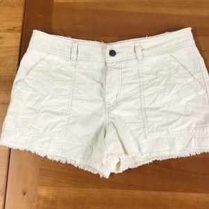 Free People khaki cut off shorts 8